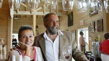 Thomas Mulcair and Catherine Pinhas were married when they were 22. (Christinne Muschi For The Globe and Mail)