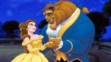 "A scene Disney's ""Beauty and the Beast,"" now re-released in 3-D"