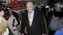 Conrad Black arrives at the Federal Courthouse in Chicago for a status hearing, January 13, 2011. (John Gress/REUTERS)