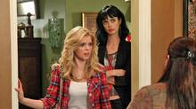 Dreama Walker and Krysten Ritter in Don't Trust the B**** in Apt. 23.
