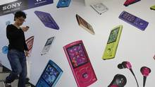 Sony created the mobile music market with its Walkman, but couldn't hold onto its lead. (Kim Kyung Hoon/REUTERS)