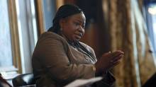 Fatou Bensouda, the ICC's chief prosecutor, is surprised by Canada's hard line against increasing funding to the institution. (HIROKO MASUIKE/NYT)