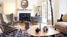 John Gerhardt?s living room (MOE DOIRON/THE GLOBE AND MAIL)