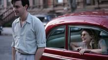 Allen Ginsberg's pals in college included On the Road writer Jack Kerouac (Jack Huston) and his girlfriend Edie Parker (Elizabeth Olsen).