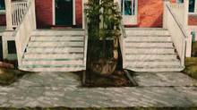 Jennifer Carvalho, the painter of Stair (mid, low), is one of the 15 finalists in the 2013 RBC Canadian Painting Competition. The winner will be announced Oct. 2.