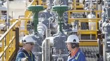In Canada, more companies, particularly in the Alberta oil patch, are reporting skills shortages. (Nexen)