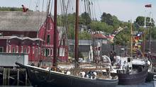 The Bluenose II has problems such as 'excessive water leakage' and stability issues. (Andrew Vaughan/THE CANADIAN PRESS)