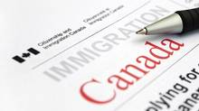 Visa application form from Citizenship and Immigration Canada. (iStockPhoto / Getty)