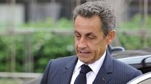 French President Nicolas Sarkozy arrives for the EU summit on July 21, 2011 at the European Council headquarters in Brussels. (ERIC FEFERBERG/AFP/Getty Images/ERIC FEFERBERG/AFP/Getty Images)