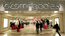 Shoppers enter Bloomingdale's at the Mall of America on Wednesday, Jan. 4, 2012 in Bloomington, Minn. (Carlos Gonzalez/The Associated Press/Carlos Gonzalez/The Associated Press)