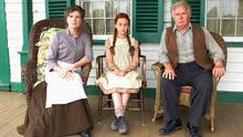 Sara Botsford, left, Marilla Cuthbert and Martin Sheen star in Lucy Maud Montgomery's Anne of Green Gables, which airs Monday on YTV.