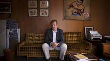 Timothy Taylor in his office in Vancouver this month. (Rafal Gerszak/The Globe and Mail)