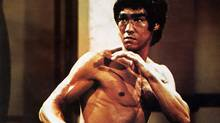 "Bruce Lee in a scene from ""Enter the Dragon"" (1973)"