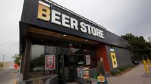 A Beer Store, part of Ontario's beer retail monopoly, in Oakville, Ont. on May 14, 2013. (Deborah Baic/The Globe and Mail)