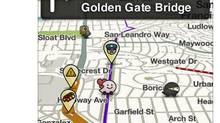 Waze is a driving app that gives updates on driving conditions and traffic.