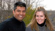 Former Tory MP Rahim Jaffer and former cabinet minister Helena Guergis, in a October, 2008, wedding photo. Federal Ethics Commissioner Mary Dawson on Tuesday said she would not investigate allegations against Ms. Guergis that had been passed on to her by Prime Minister Stephen Harper.