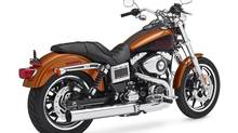 This product image provided by Harley-Davidson shows a 2014 FXDL Dyna Low Rider motorcycle. (The Canadian Press/AP)