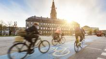 Copenhagen has linked up with 22 nearby municipalities to build a set of 'cycle superhighways.' (William Perugini/iStockphoto)