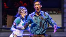 Margaret Thompson and Ryan Ward in Evil Dead: The Musical (Chris Young for The Globe and Mail)