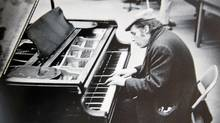 Glenn Gould performing at CBC studios in Toronto in 1974. (Walter Curtin)