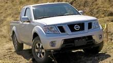 2011 Nissan Frontier (Mike Ditz/Nissan)