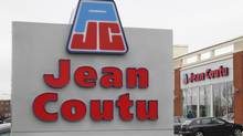 An exterior shot ofJeanCoutustore in Longueuil, Quebec, May 2, 2012 (Christinne Muschi)