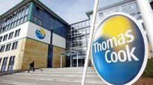 Thomas Cook office in Oberursel, near Frankfurt, is seen in this March 17, 2003 file photo. (MICHAEL PROBST/AP)