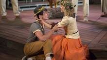 Alexander Plouffe and Amy Rutherford in As You Like It at Canadian Stage's Shakespeare in High Park. (David Hou)