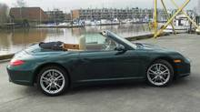 The Carrera 4 Cabriolet is one of at least five 911 soft-top models offered. (Ted Laturnus for The Globe and Mail)