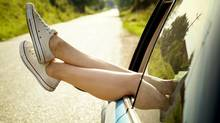 Summer road trip tips. No. 1: Make sure all your limbs are in the car. (Photos.com)