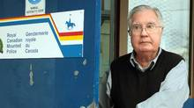 A 2009 file photo of Bishop Raymond Lahey, who is shown leaving an RCMP office in Rogersville, N.B. (PAUL DARROW/Paul Darrow/For The Globe and Mail)