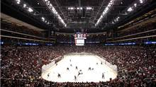 A general view of Jobing.com Arena, home of the Phoenix Coyotes. (Christian Petersen/2009 Getty Images)