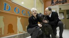 When their own dog died, Helen Brent and Malcolm Bernstein decided to use a book Mr. Bernstein wrote about him to benefit animal welfare charities. (FRED LUM/THE GLOBE AND MAIL)