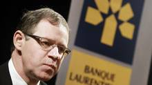 Rejean Robitaille, president and chief executive of Laurentian Bank (REUTERS)