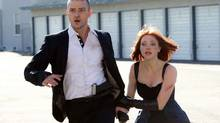 """Amanda Seyfried and Justin Timberlake in a scene from """"In Time"""" (Stephen Vaughan/Twentieth Century Fox Film)"""