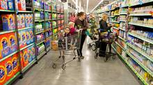 A file photo of a Walmart store in Okotoks, Alta. (Chris Bolin/Chris Bolin for The Globe and Mail)