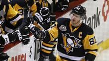 Sidney Crosby and Connor McDavid suddenly have company in the race for the NHL's MVP award. (Gene J. Puskar/AP)
