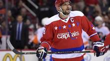 Washington Capitals left wing Alex Ovechkin will miss the NHL All-Star game due to injury. (Nick Wass/Associated Press)