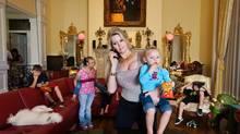 The Queen of Versailles Jackie and her children in Orlando, Fla. (Lauren Greenfield/Lauren Greenfield/INSTITUTE)