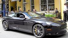 Aston Martin Virage (Petrina Gentile for the Globe and Mail)