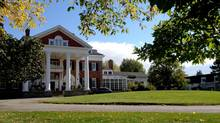 Langdon Hall, celebrating its 25th anniversary, was built by the New York Astors at the turn of the 20th century.