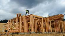 A report by Captial Economics found that U.S. job losses in 2008 and 2009 were 'disproportionally concentrated' in the higher-paying construction, manufacturing and information sectors. (Kevork Djansezian/Kevork Djansezian/Getty Images)
