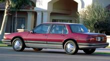 The 1987 Pontiac Bonneville, AJAC's first overall winner for Car of the Year. (General Motors)