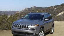 The Cherokee has two new engines and a nine-speed automatic transmission. (Petrina Gentile for The Globe and Mail)