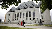The Supreme Court of Canada is pictured in Ottawa on June 8, 2016. (Blair Gable For The Globe and Mail)