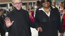 Film critic Roger Ebert and his wife Chaz Ebert (© Fred Thornhill / Reuters/REUTERS)