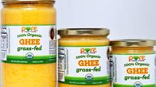 Pure Indian Foods' ghee is made from the cream of free-ranging dairy herds in New Jersey. (Handout)