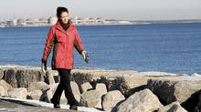 Comedian loves walks by Lake Ontario. (FERNANDO MORALES/THE GLOBE AND MAIL)