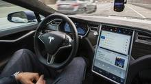 Driverless cars will benefit the environment and increase personal safety but there also downsides, particularly for oil and taxi industries (Mark Blinch for the globe and mail)