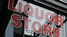 A liquor store sign in New Westminster, B.C. (Richard Lam/Canadian Press)